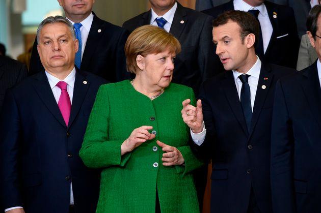 Viktor Orban, Angela Merkel, Emmanuel Macron: Auch sie werden 2019 wieder entscheidend prägen.
