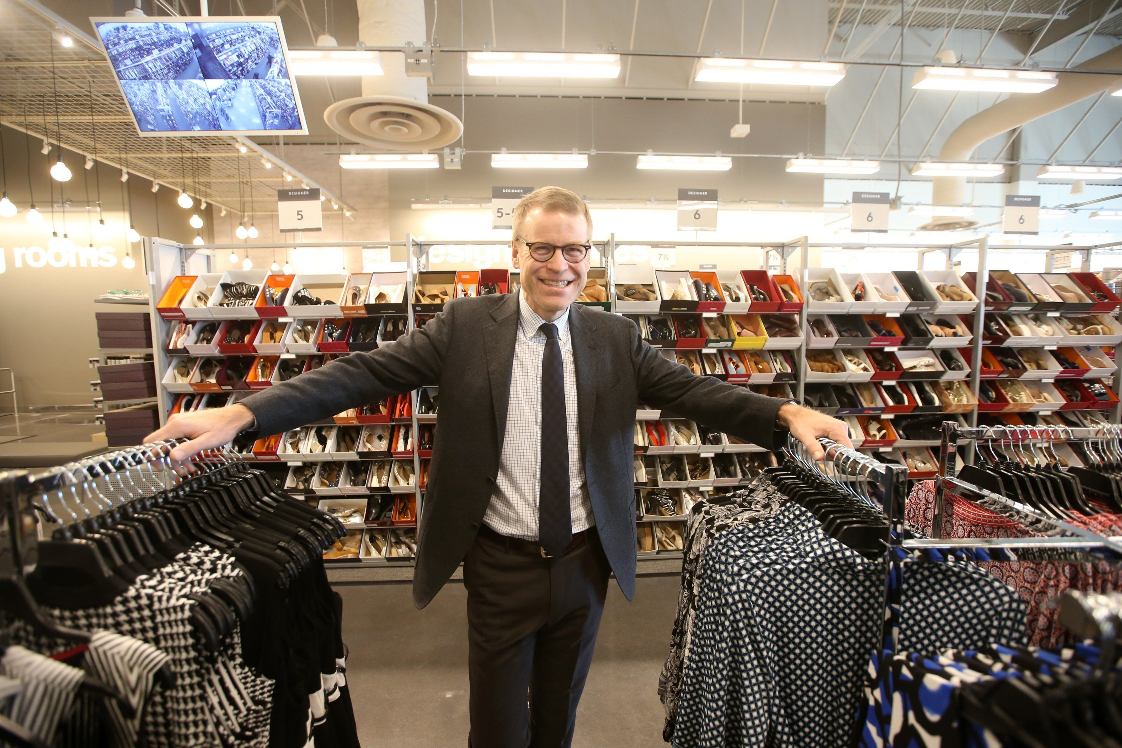 TORONTO, ON - MARCH 20:   Blake Nordstrom, co-president of Nordstrom Inc., says the Rack locations will be a  a great outlet to move merchandise.        (Vince Talotta/Toronto Star via Getty Images)