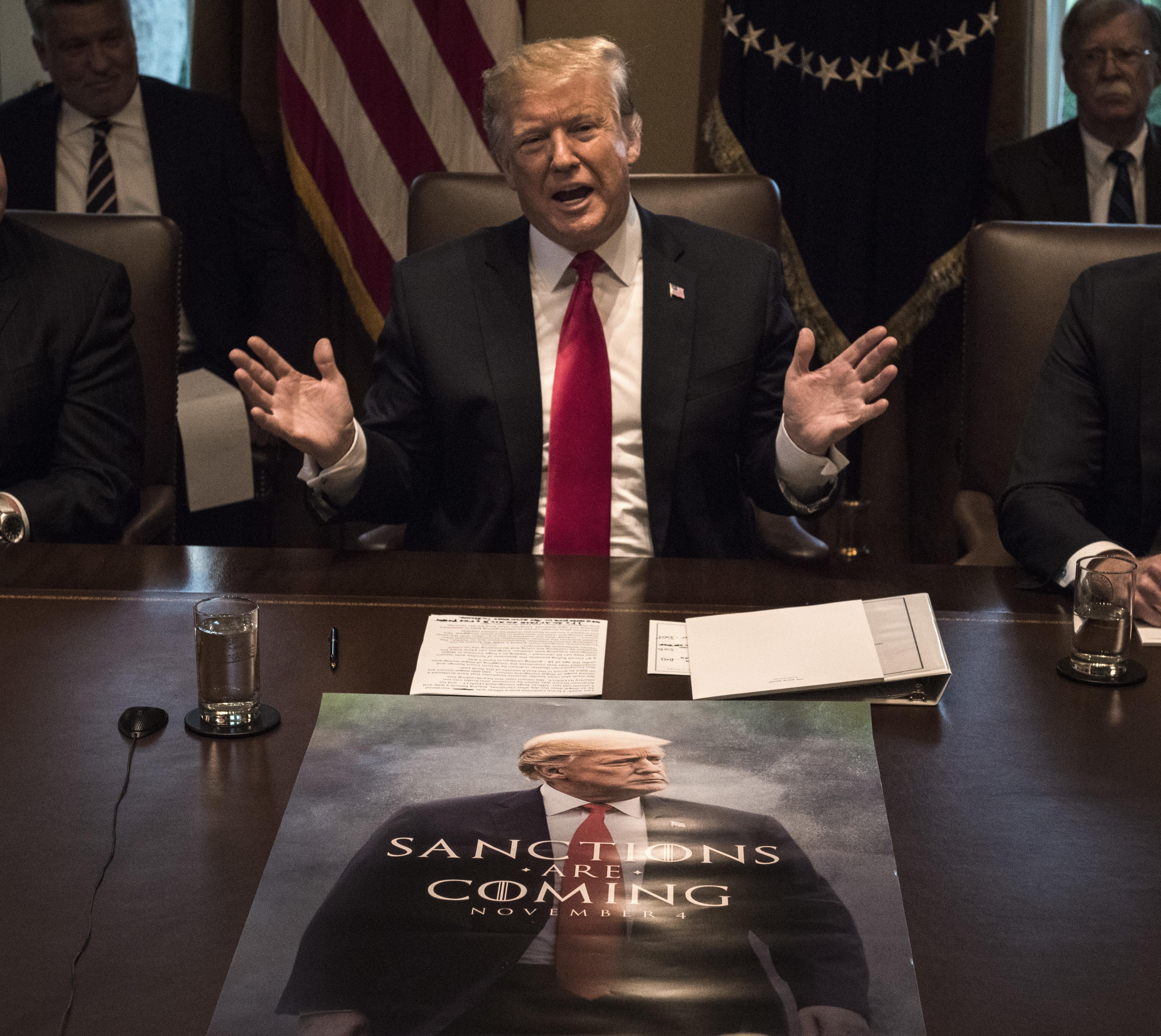 Trump von der Rolle: Die 8 wahnwitzigsten Momente seiner