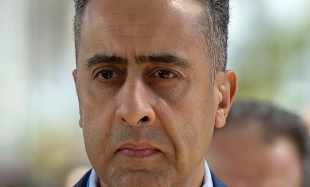 Le directeur général de la sûreté nationale,Abdellatif Hammouchi, lors...