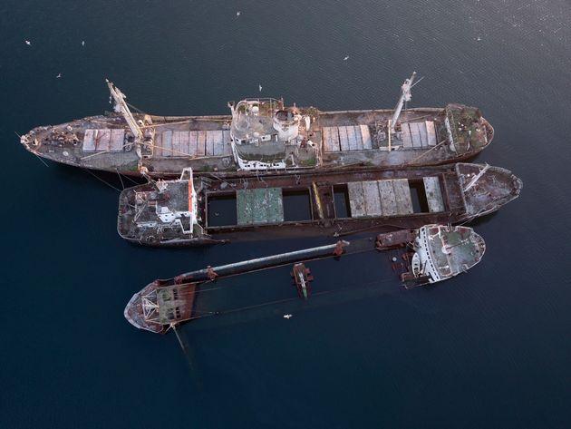 Ανασύρονται τα ναυάγια στον κόλπο της