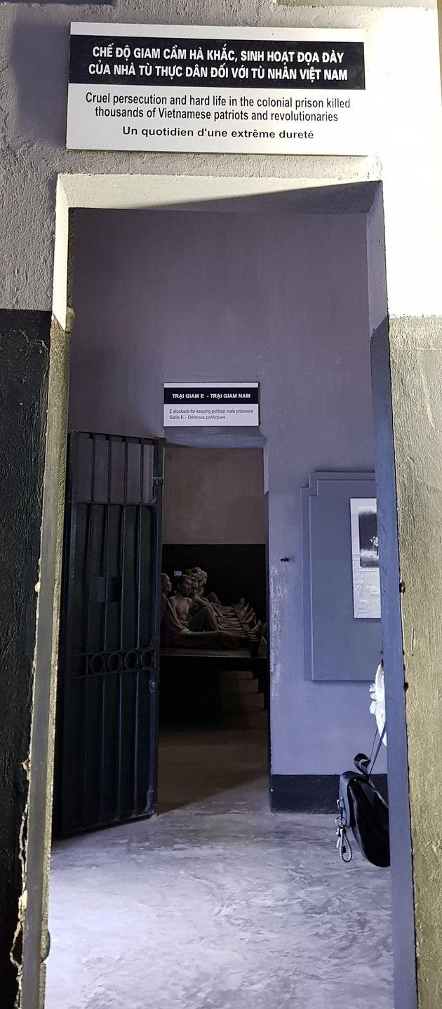 Prison de Hỏa Lò. Décembre 2018.