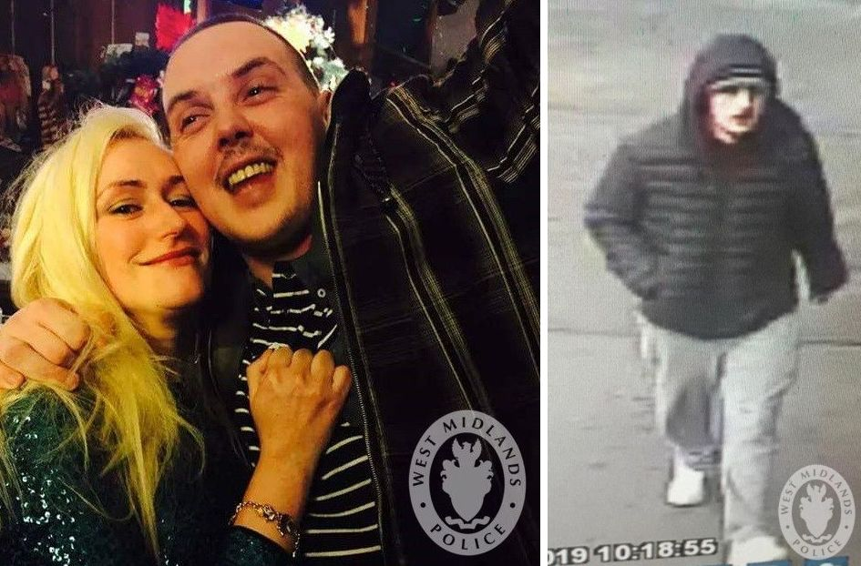 Police have appealed for information regarding Michael Foran (right) following the death of June Jones (left).