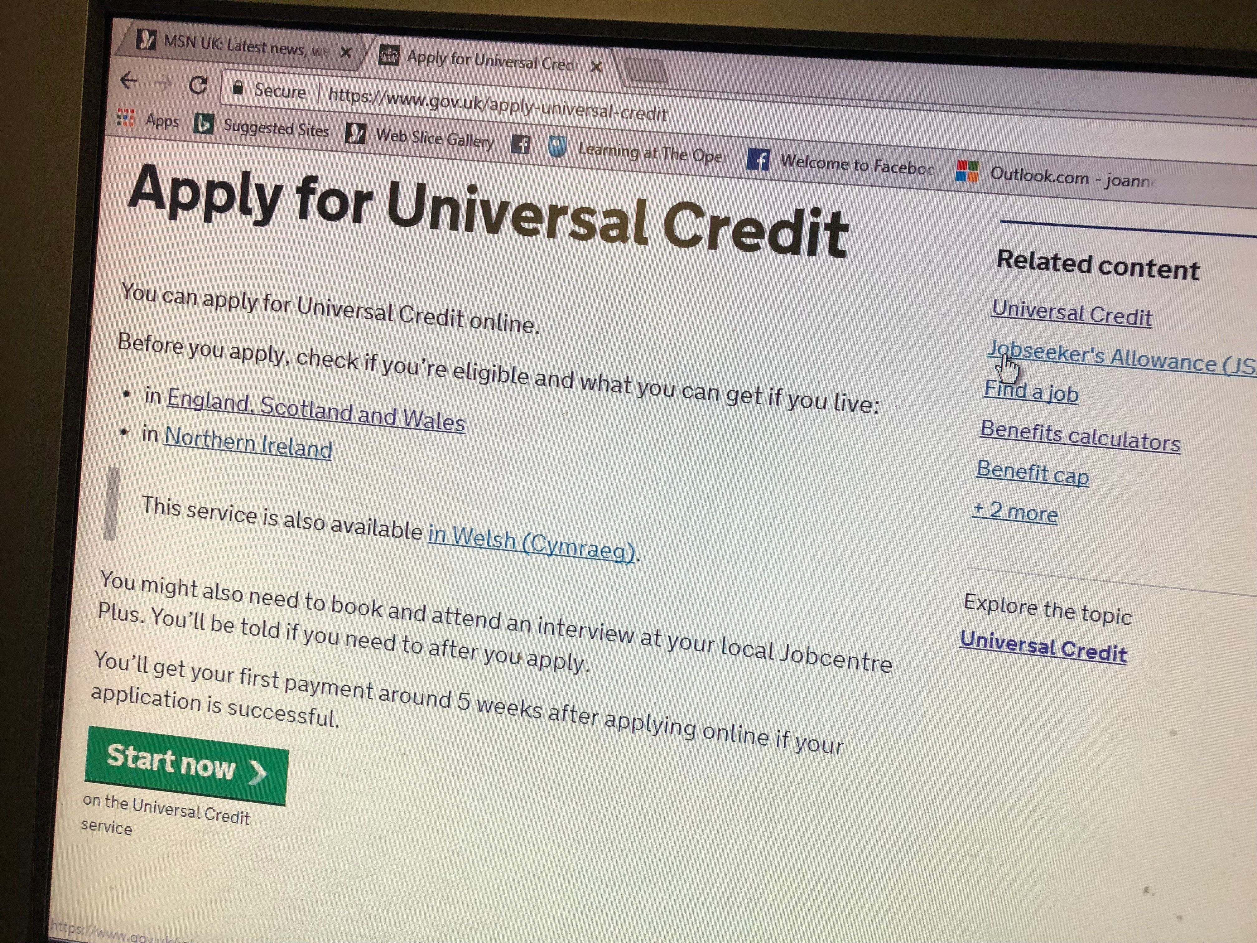 The online application system for Universal