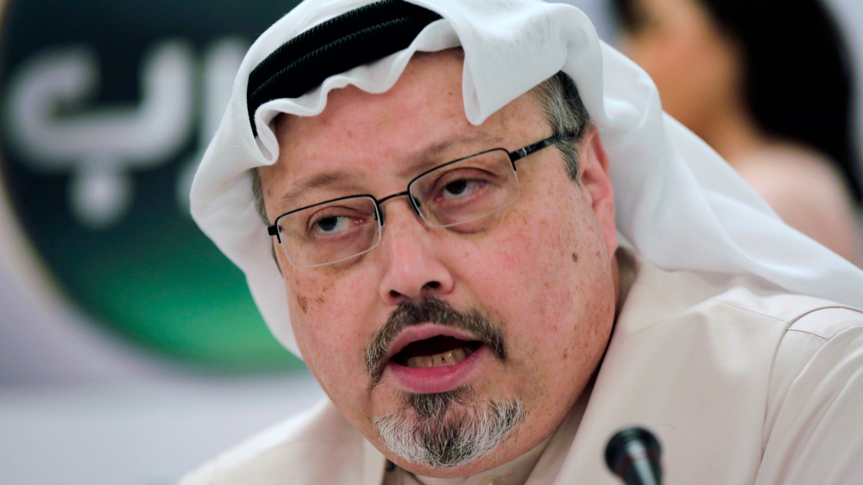 <p>Washington Post columnist Jamal Khashoggi was killed at the Saudi consulate in Istanbul in October.</p>