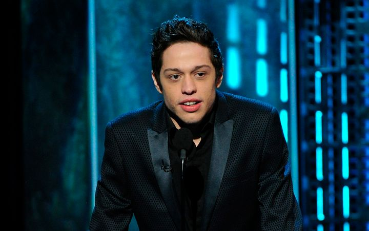 Pete Davidson speaks onstage at the Comedy Central Roast of Justin Bieber on March 14, 2015 in Culver City, California.