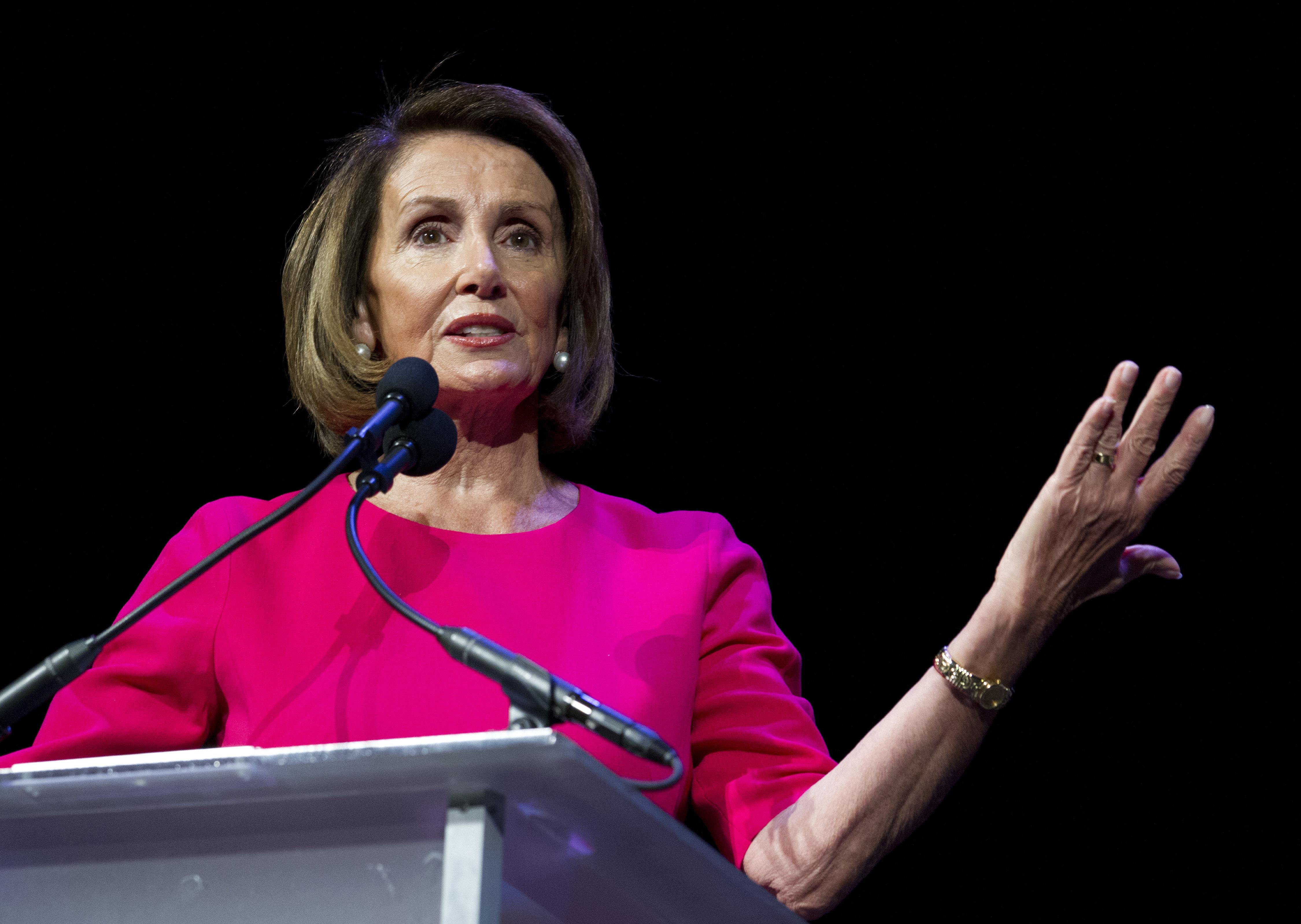 The House elected Nancy Pelosi as speakeron Thursday.