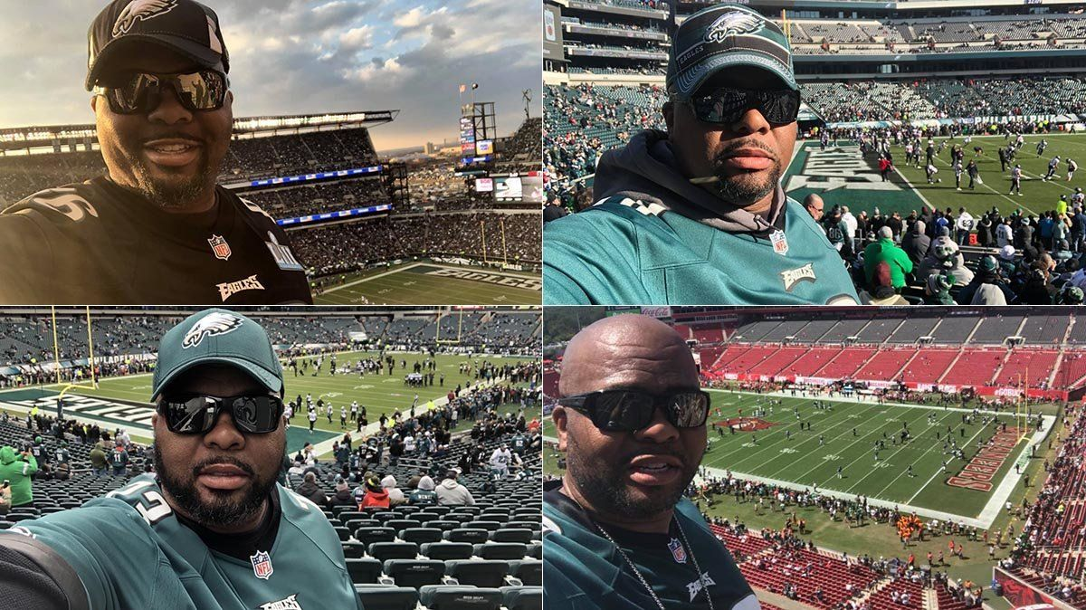 This Eagles Fan Attended Every Single Game This Season After A Health