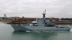 Royal Navy Ship Sent To Patrol English Channel To 'Prevent Migrants