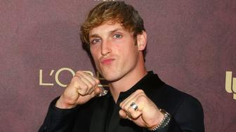 WEST HOLLYWOOD, CA - SEPTEMBER 15: Logan Paul arrives to the 2018 Entertainment Weekly Pre-Emmy Party at Sunset Tower Hotel on September 15, 2018 in West Hollywood, California.  (Photo by Gabriel Olsen/Getty Images)