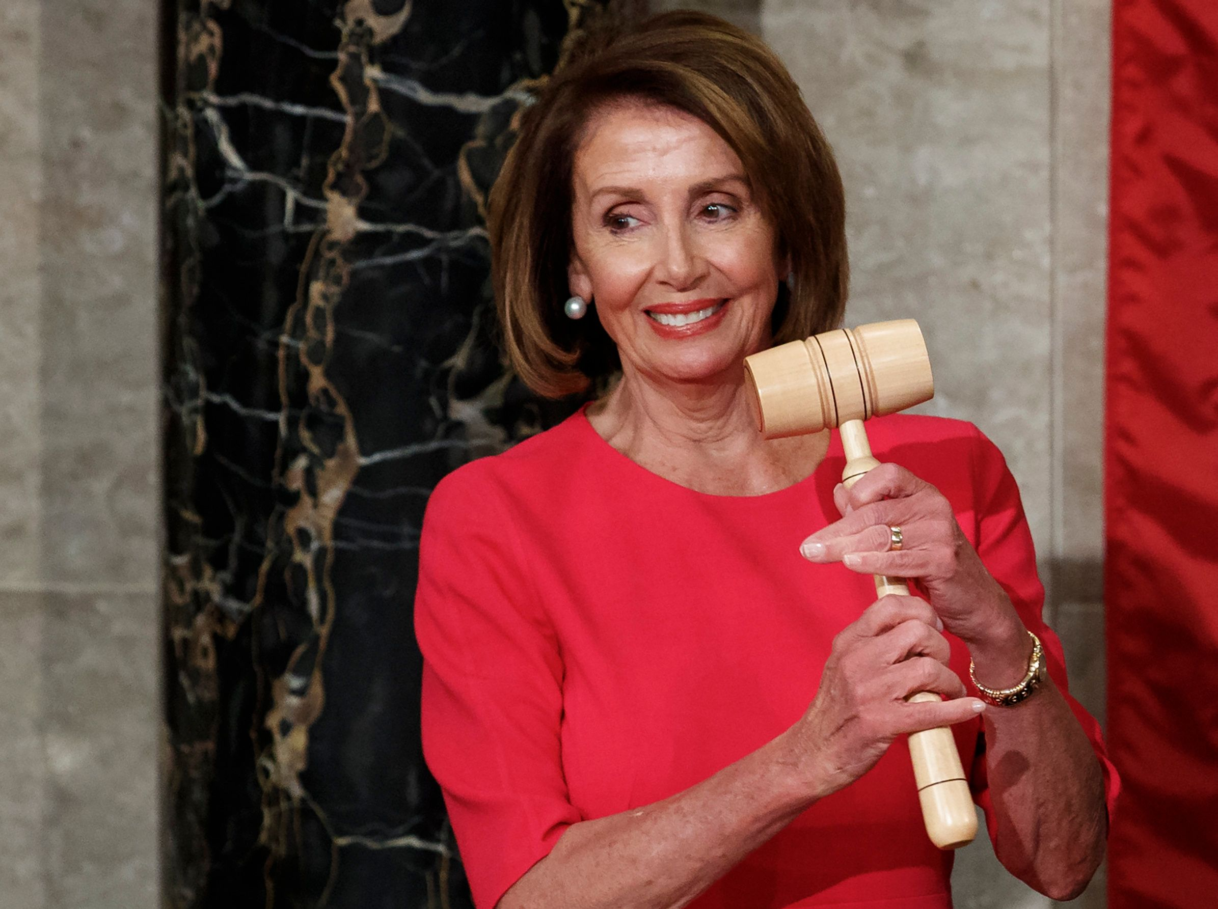 One of Nancy Pelosi's first orders of business as House speaker is inviting Trump to give a State of the Union address.