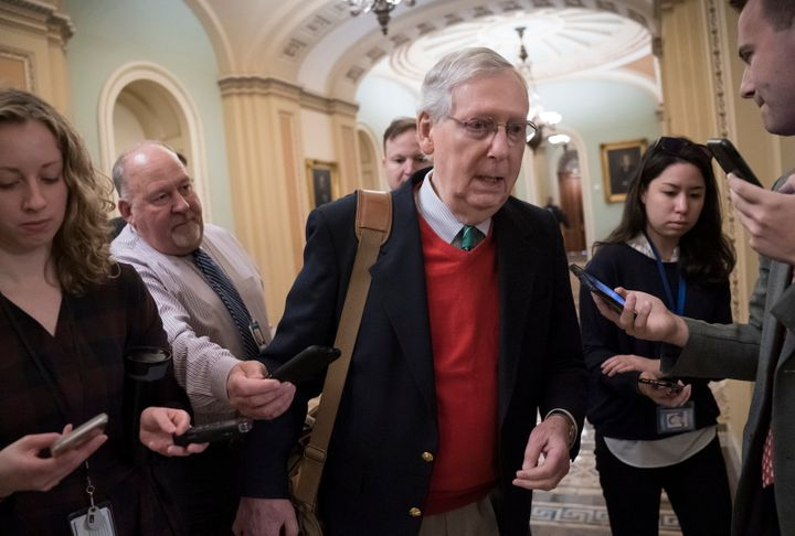 Senate Majority Leader Mitch McConnell vowed Thursday not to bring up the House-passed legislation.
