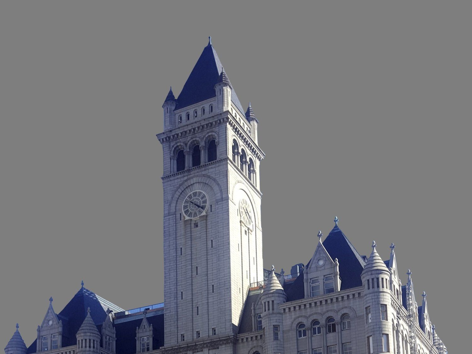 Image result for photos of PARK WORKERS AT CLOCK AT TRUMP INTERNATIONAL HOTEL