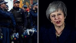 Brexit: Erneuter Rückschlag für May, Polizei bereitet sich auf Chaos