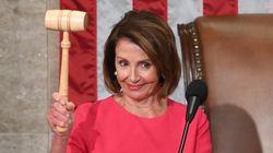 미국 신임 하원의장 민주당 낸시 펠로시는