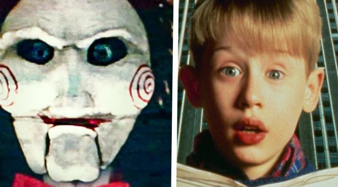 Do you see a resemblance between Jigsaw and Kevin McCallister?
