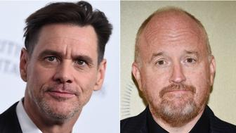 Jim Carrey and Louis CK