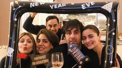 PHOTOS: Lovebirds Ranbir Kapoor And Alia Bhatt Holidaying In New