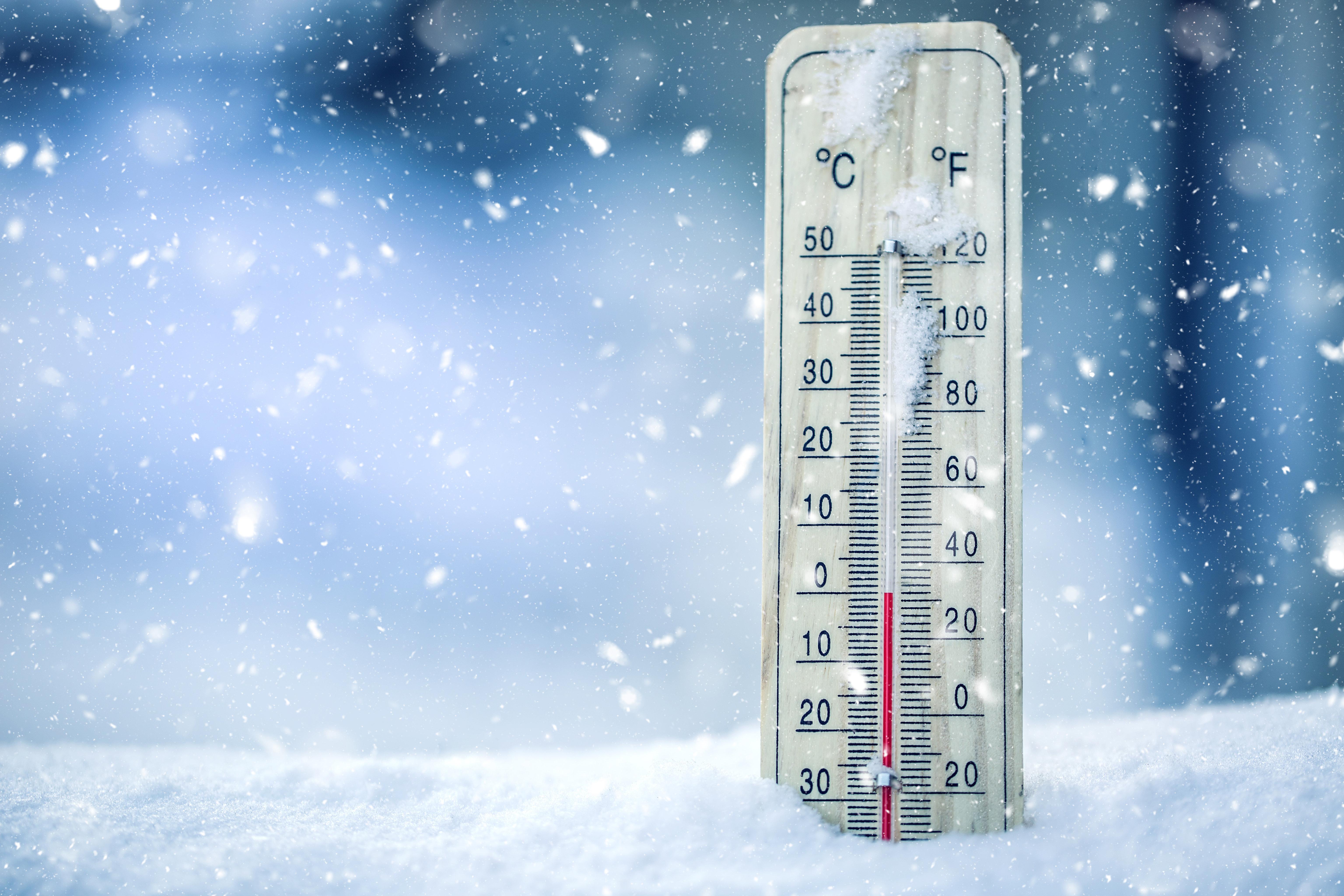 Retour du grand froid: Des températures négatives enregistrées dans 6