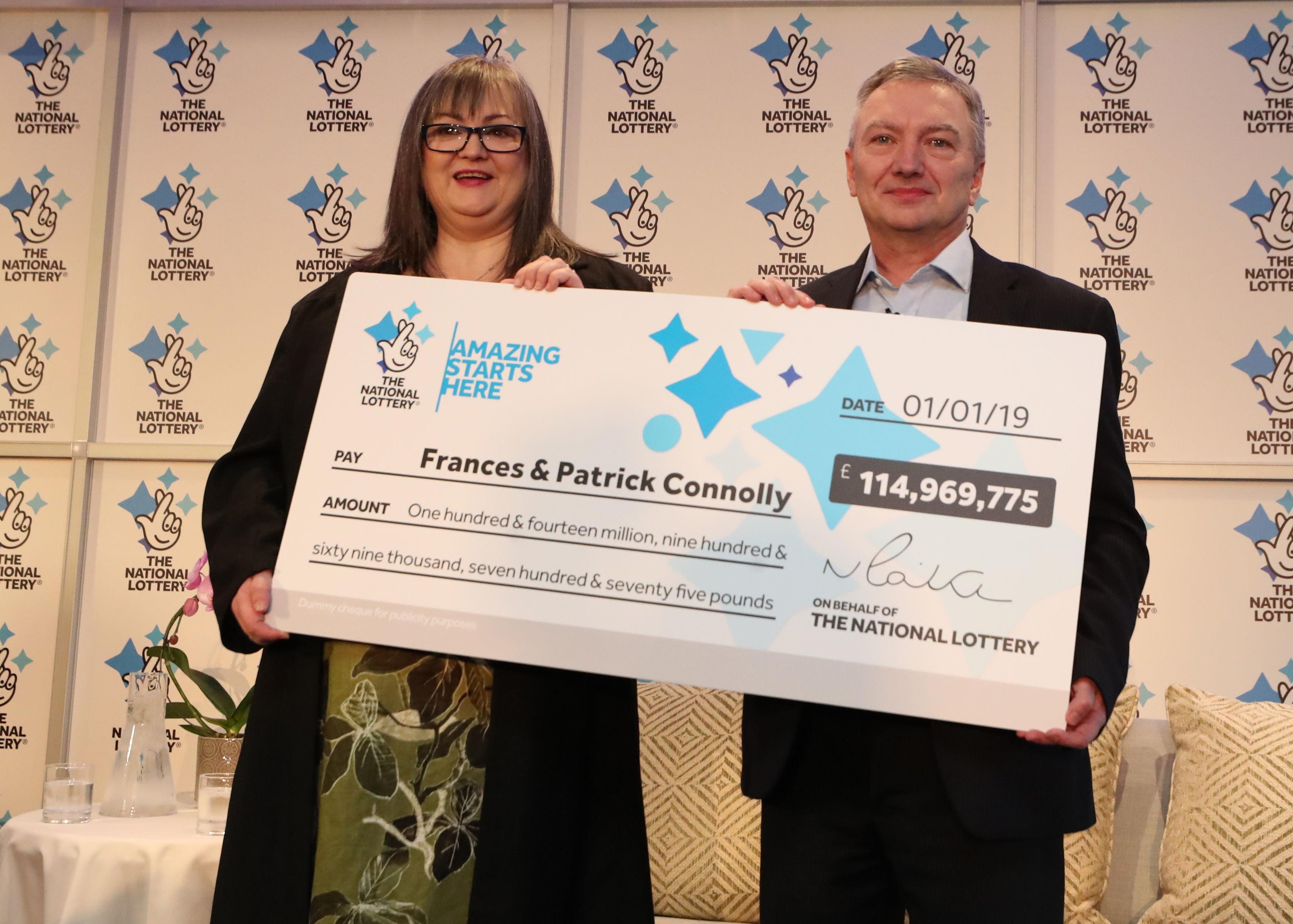 Lotto in Großbritannien: Jetzt ist bekannt, wer den 128-Millionen-Jackpot