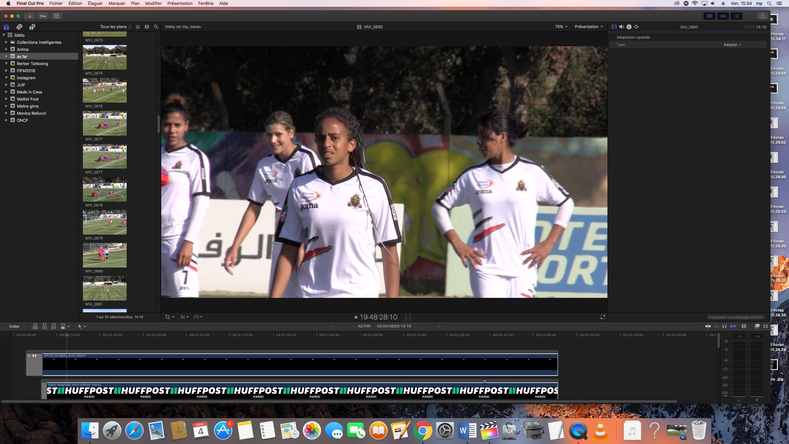 Le football féminin au Maroc, un monde inégal