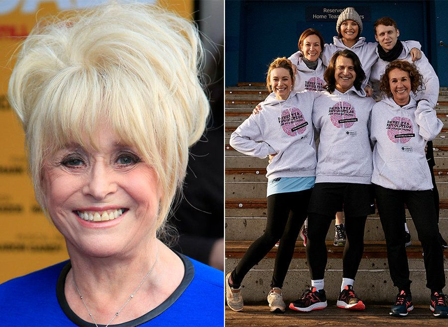 Barbara Windsor's 'EastEnders' Pals Join Dementia Fight Running London