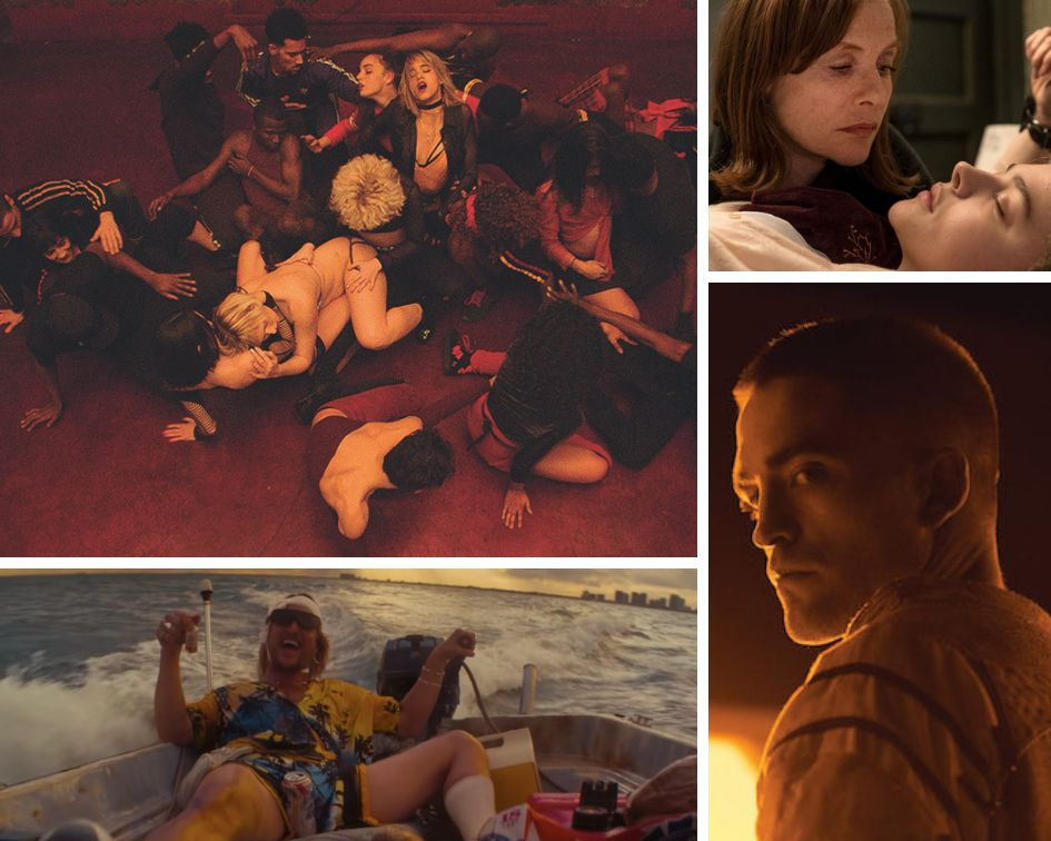 "Clockwise from top left: ""Climax,"" ""Greta,"" ""High Life"" and ""The Beach Bum."""