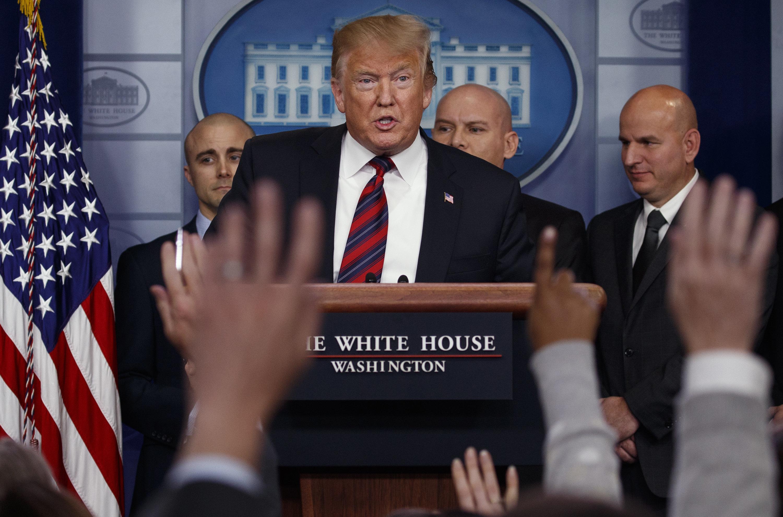 Trump face à un nouveau Congrès vent debout contre son projet de