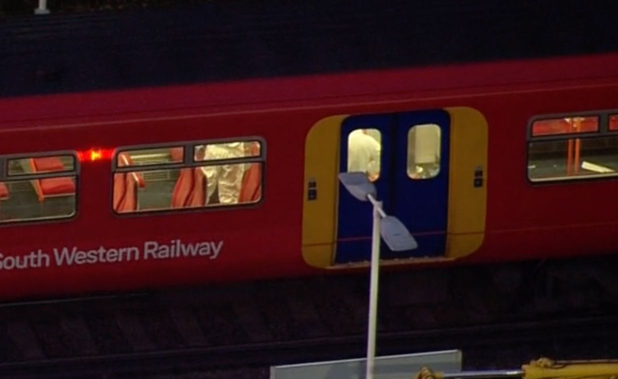 UK police arrest suspect in fatal train stabbing