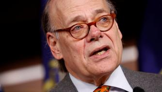 Rep. Steve Cohen (D-TN) speaks at a press conference announcing articles of impeachment being filed against President Donald Trump on Capitol Hill in Washington, U.S., November 15, 2017. REUTERS/Aaron P. Bernstein