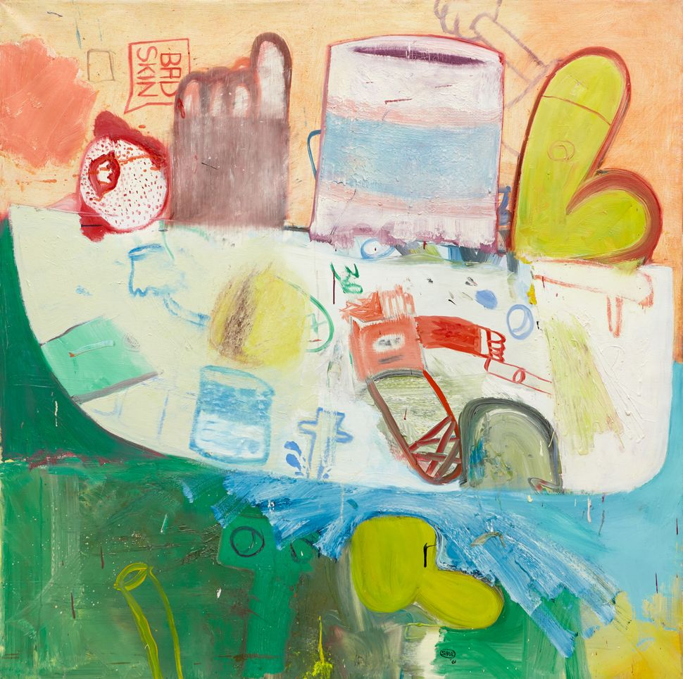 Sex Boat, 1961  Oil on canvas  52 x 51 inches
