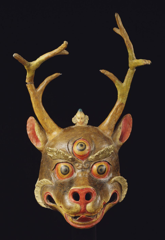 Deer Mask, Rubin Collection