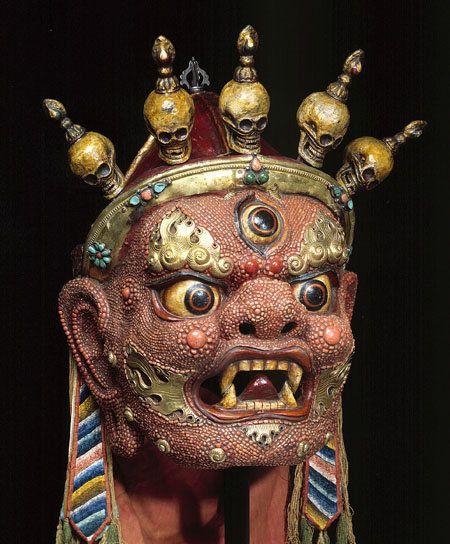 Mask of Begtse, Rubin Collection