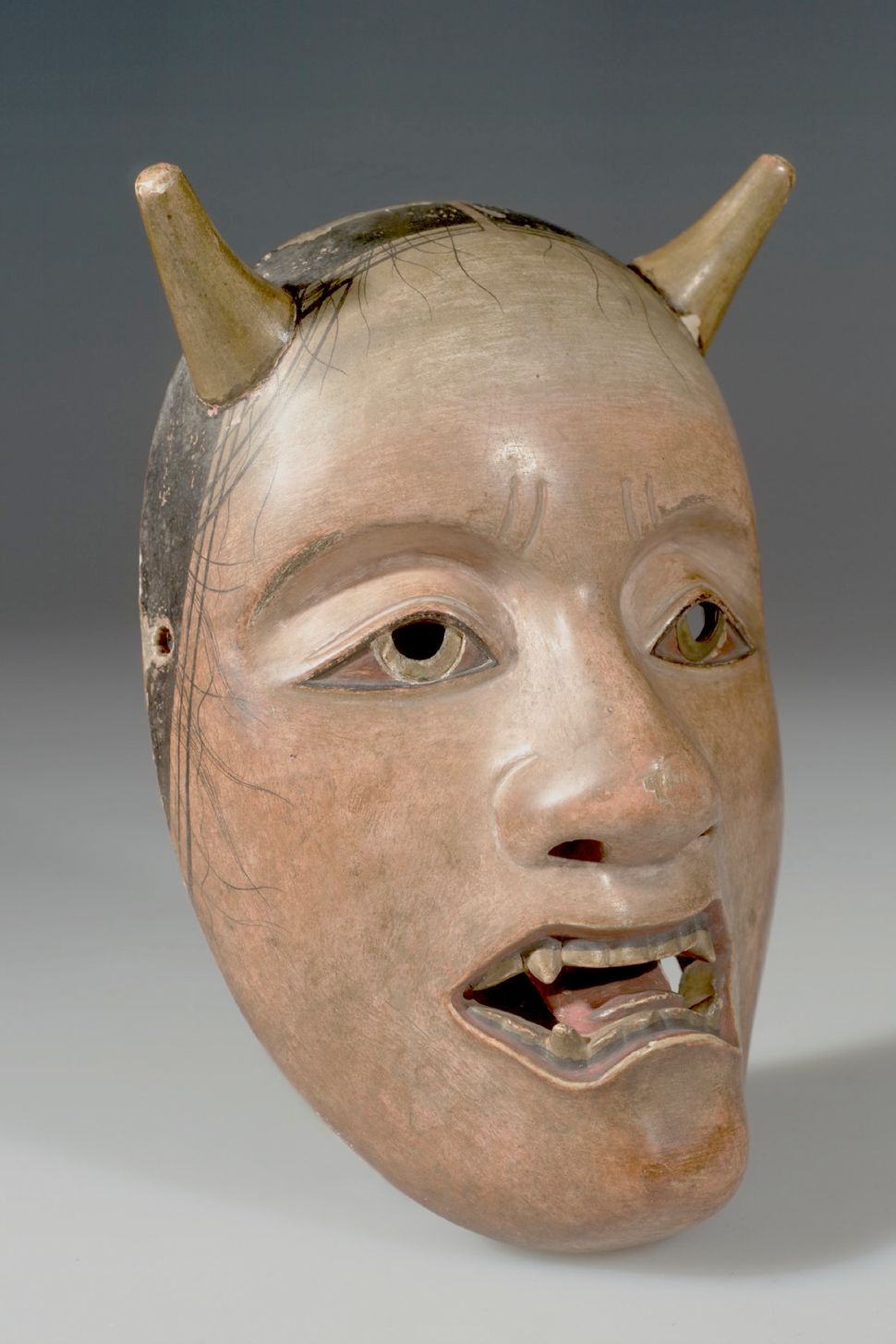 Noh Drama Mask Demon, American Museum of Natural History