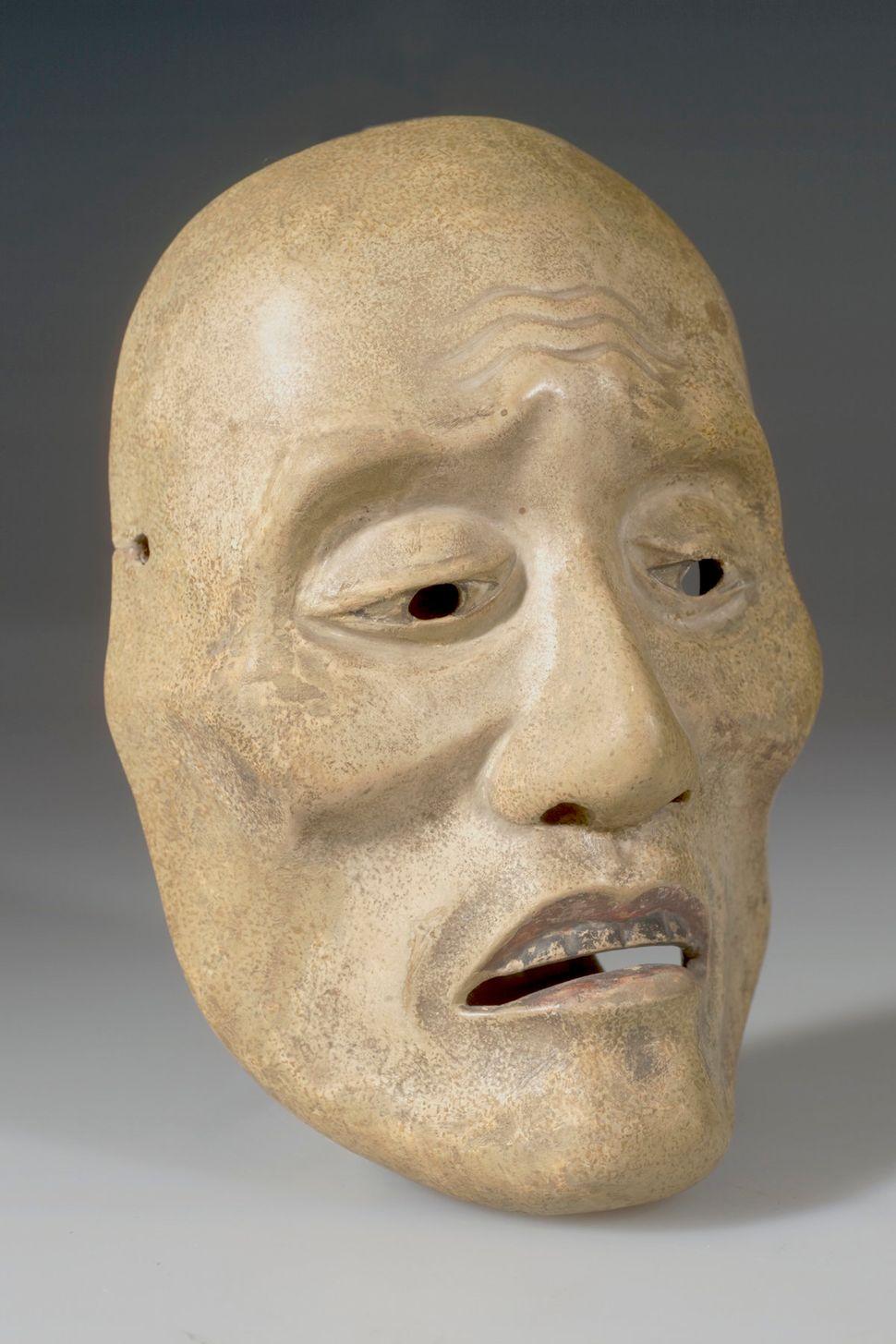 Noh Drama Mask Man, American Museum of Natural History