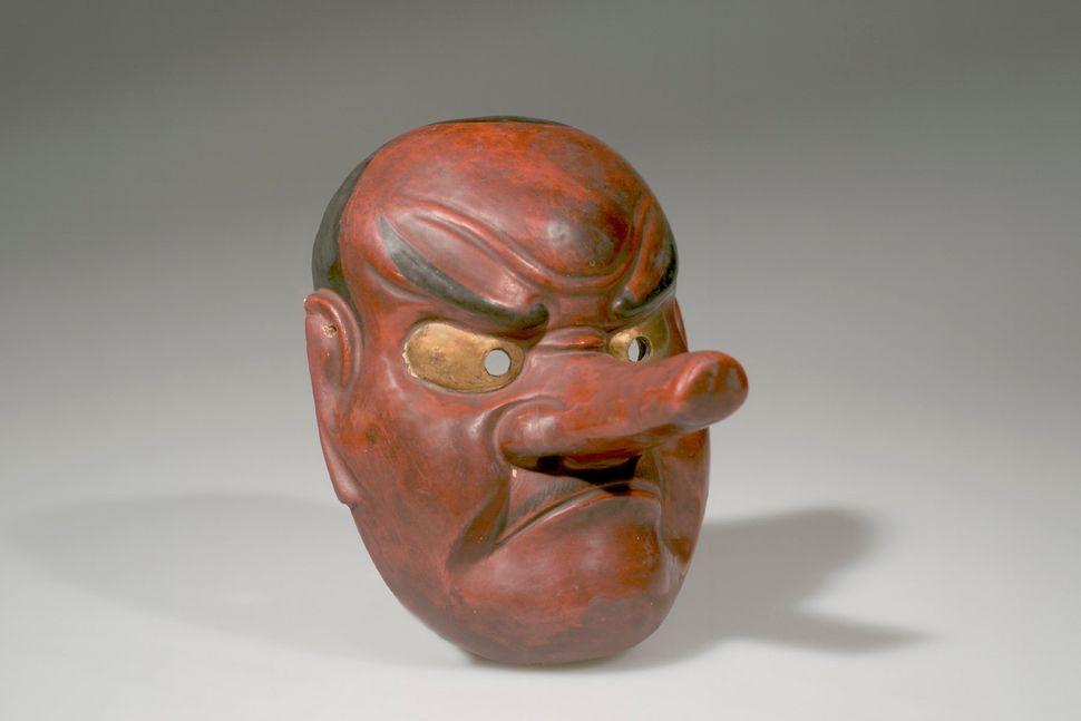 Noh Drama Mask, Spirit, American Museum of Natural History