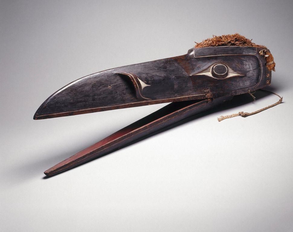 Raven Mask, Brooklyn Museum
