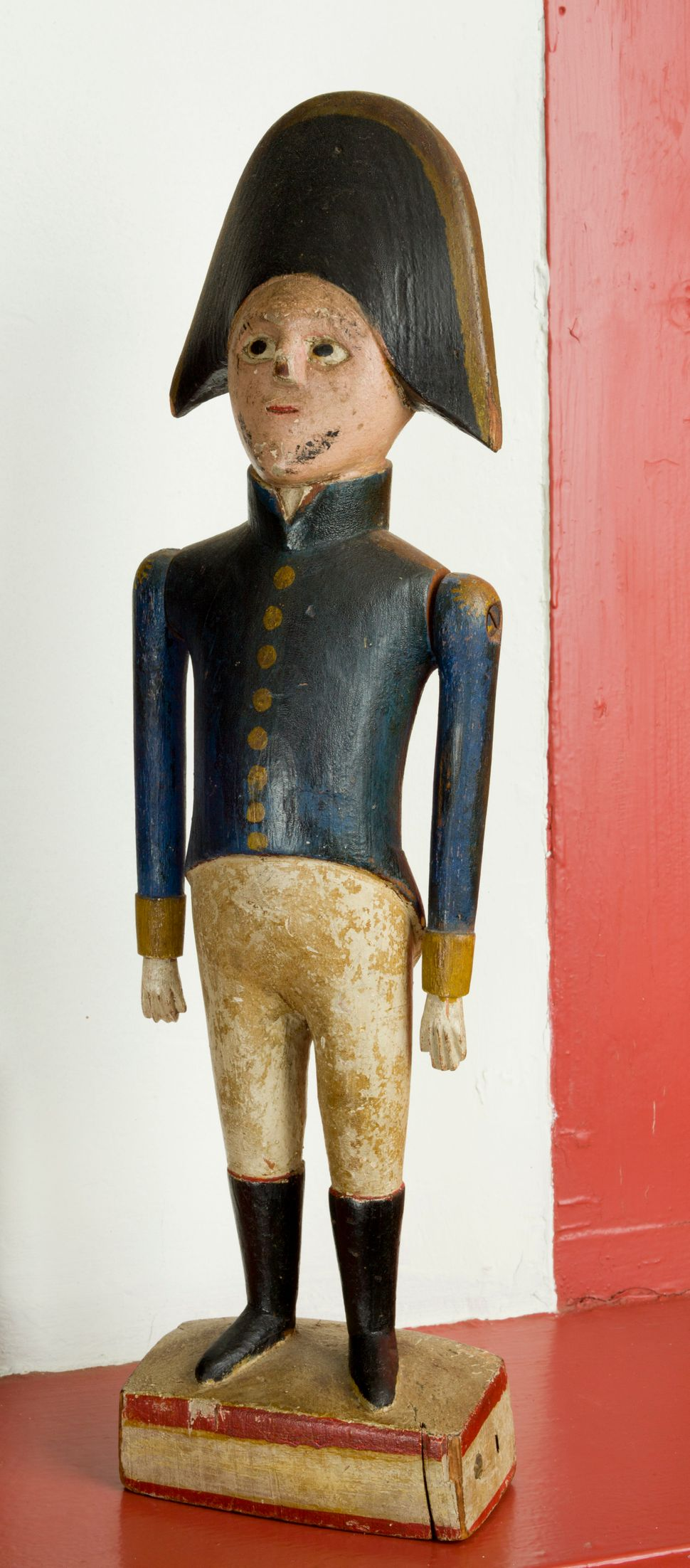 Toy Soldier, 19th century American Image: Courtesy of the Worcester Art Museum