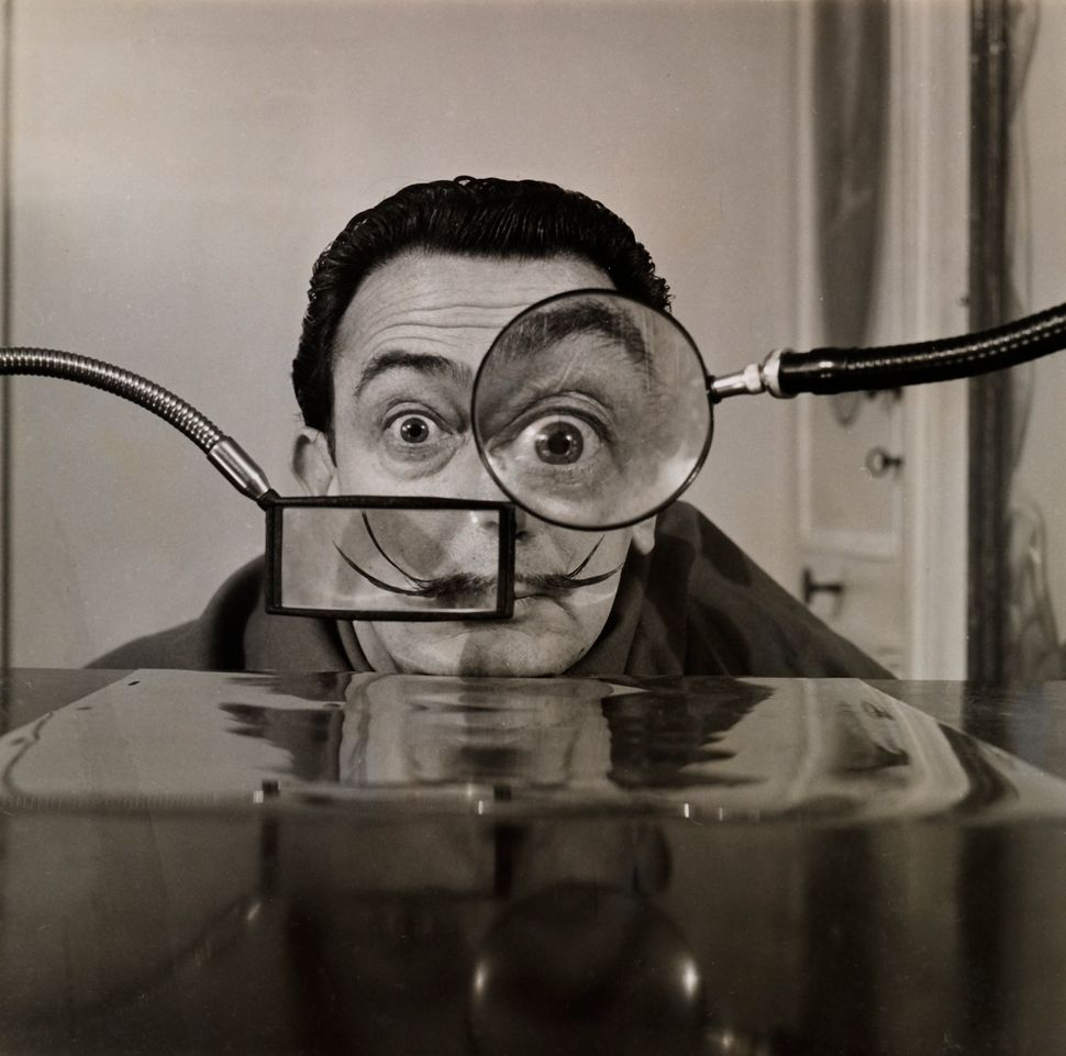 Willy Rizzo Salvador Dalí photograph for Paris-Match Collection Gala-Salvador Dalí Foundation.