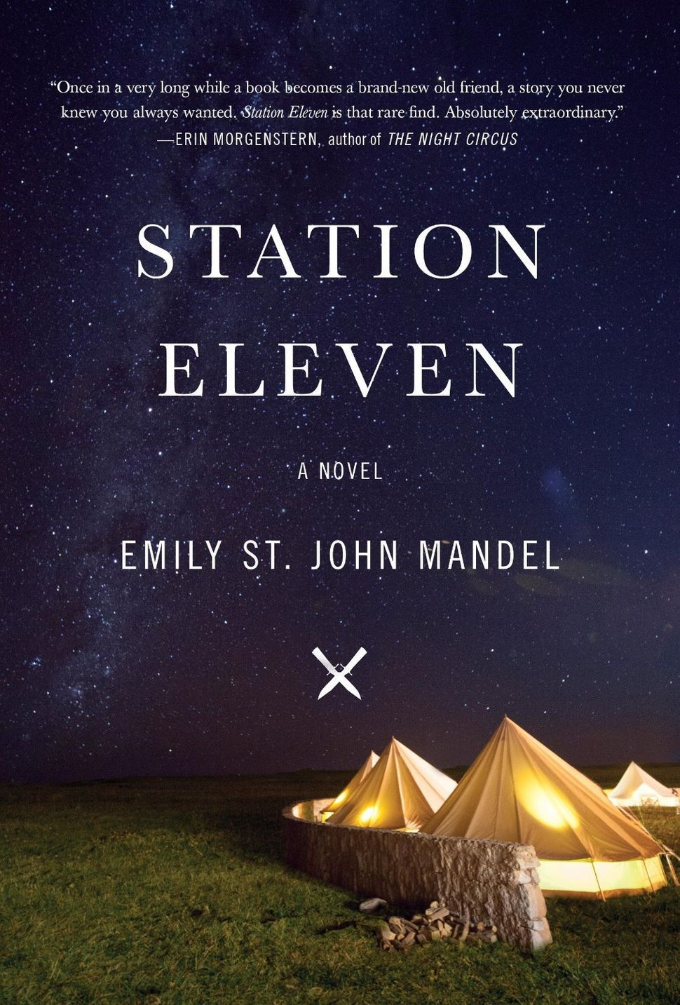 "Yes, we know. ""Everyone says it's so good."" That's because it IS so good. ""Station Eleven"" follows the before and after of an"
