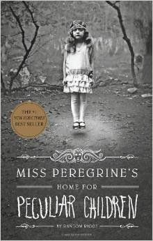 "Book enthusiasts were flying off the handle when this book with creepy black and white photos hit the shelves. ""Miss Peregrin"