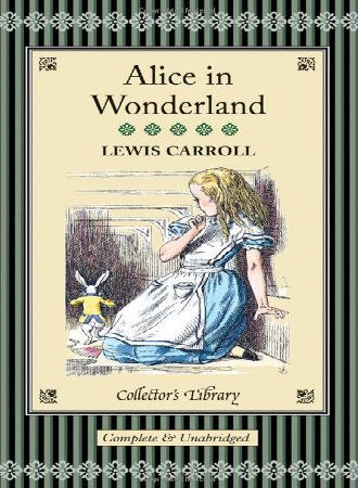 This really is a book about a land of wonder. The protagonist falls down a rabbit hole into a world of talking animals, disap
