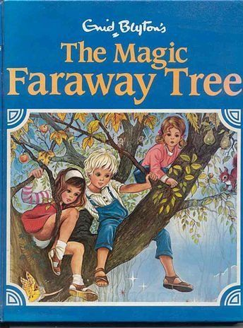 Enid Blyton's stories revolve around three children who discover an enchanted tree which has magical lands at the top of its