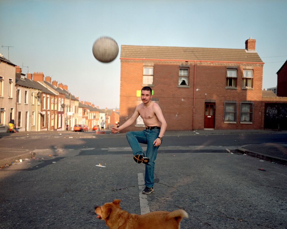 """The ball bounced. I was home again, in Belfast. That period was a turning point -- many balls in the air, the peace process"