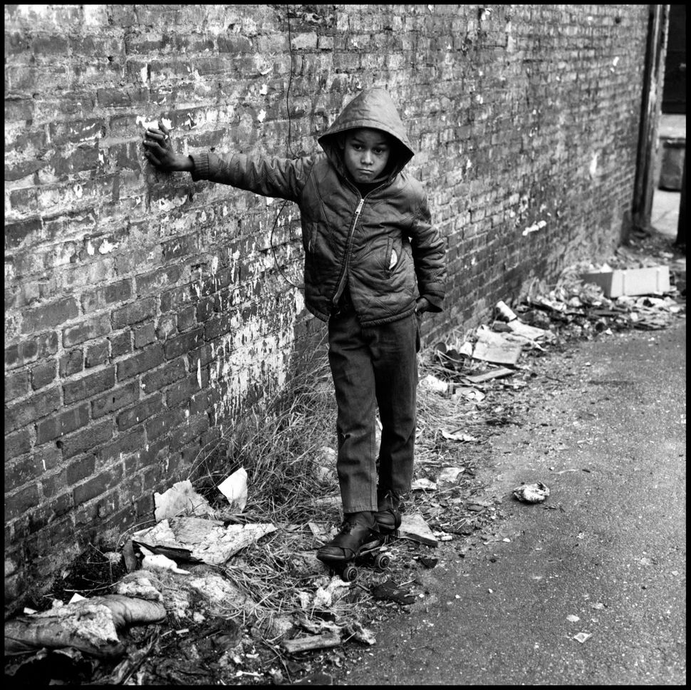 """This is a photograph from my project East 100th Street. In 1966, I began to document the neighborhood in Spanish Harlem know"