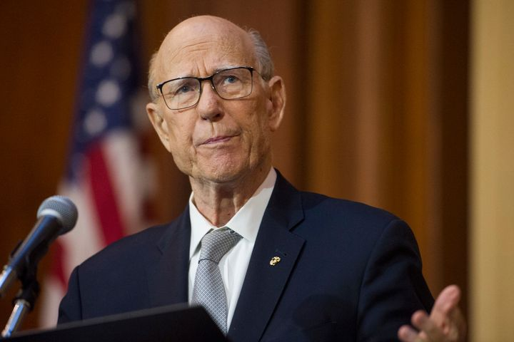 Sen. Pat Roberts (R-Kan.) won't seek re-election in 2020.