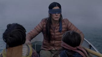 "Sandra Bullock in ""Bird Box"""