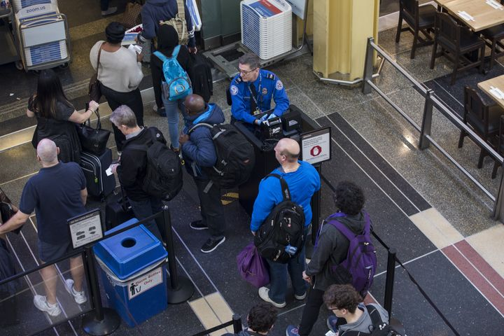 Some federal employees, such as Transportation Security Administration workers, have had to work without pay during the gover