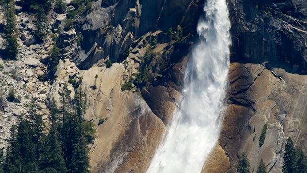 Nevada Fall, Yosemite NP, California, USA