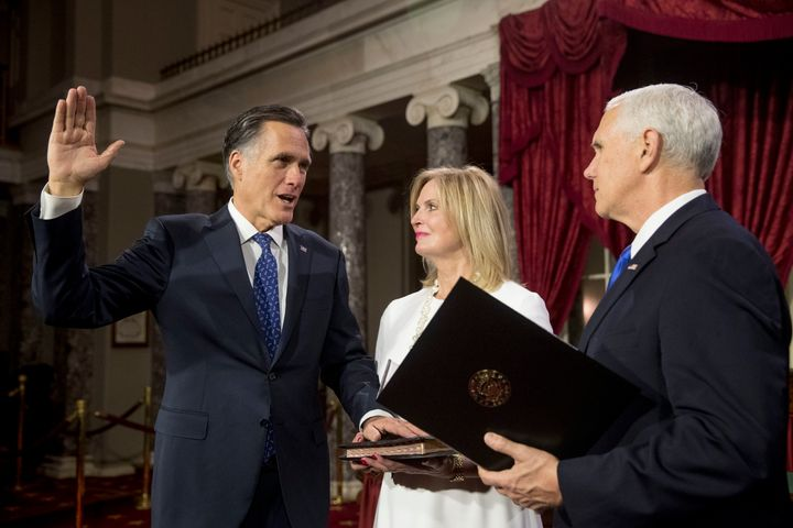 Sen. Mitt Romney (R-Utah) was sworn in this week.